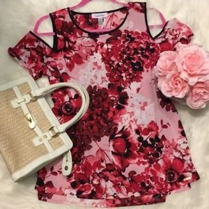 CK floral top